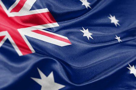 High resolution digital render of Australian flag.