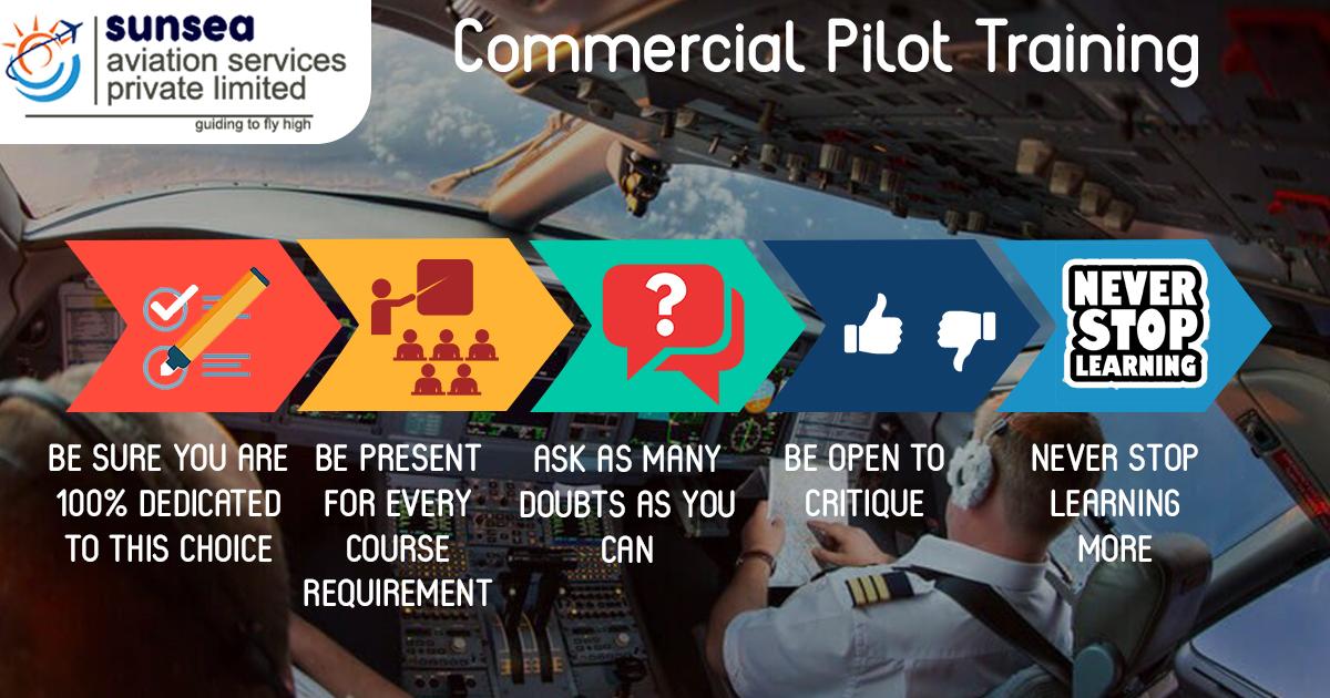 5 Tips For Commercial Pilot Training